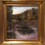 Bruce Petrie - Transition to Autumn -Llittle Miami Plein Air