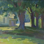 Carl Samson - Farmhouse Trees